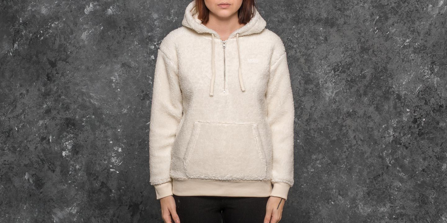 Vans Subculture Sherpa Hood Marshmallow, White