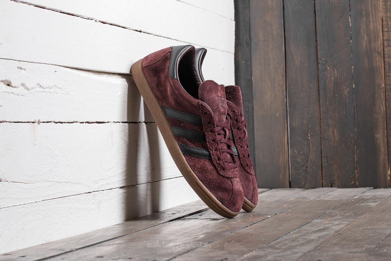 adidas Tobacco Red Night Core Black Gum | Footshop