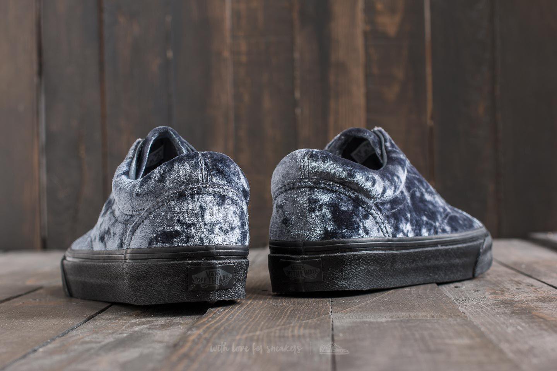 Vans Old Skool (Velvet) Gray Black | Footshop