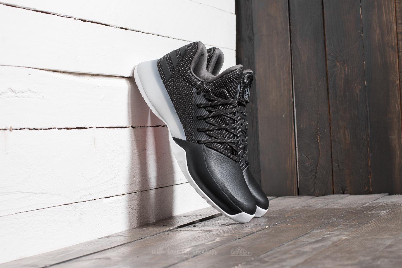 4e5fb07d7545 adidas Harden Vol. 1 Core Black  Solid Grey