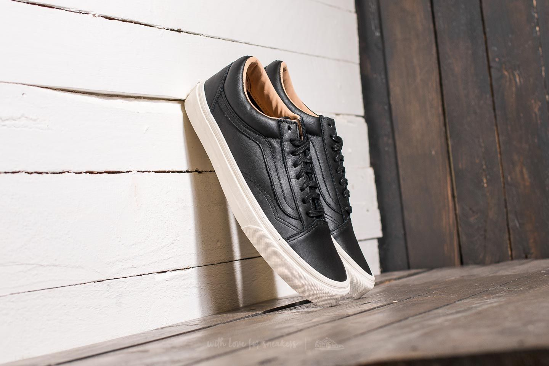Vans Old Skool (Lux Leather) Black Porcini | Footshop