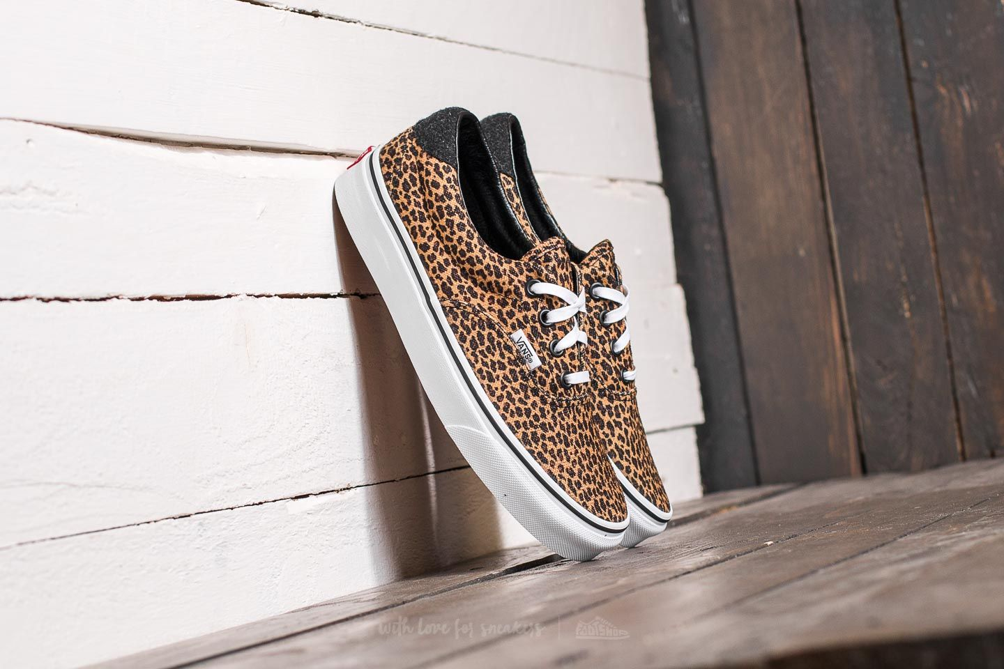 79d6ab850443e7 Vans Era 59 (Mini Leopard) Brown  True White