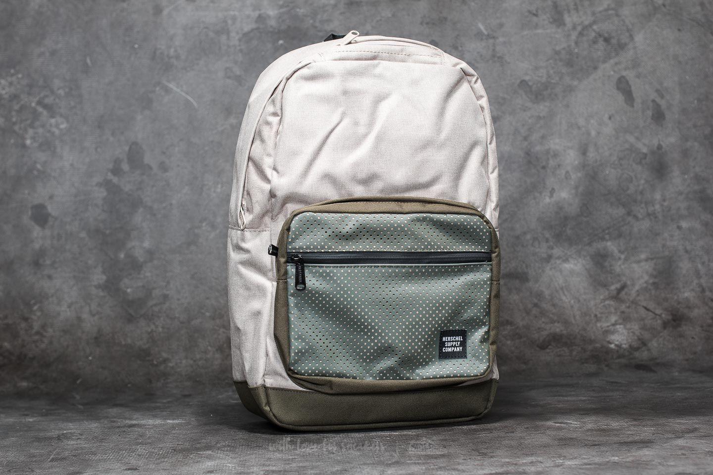 7bb23d34af Herschel Supply Co. Pop Quiz Backpack Light Khaki Crosshatch  Forest ...