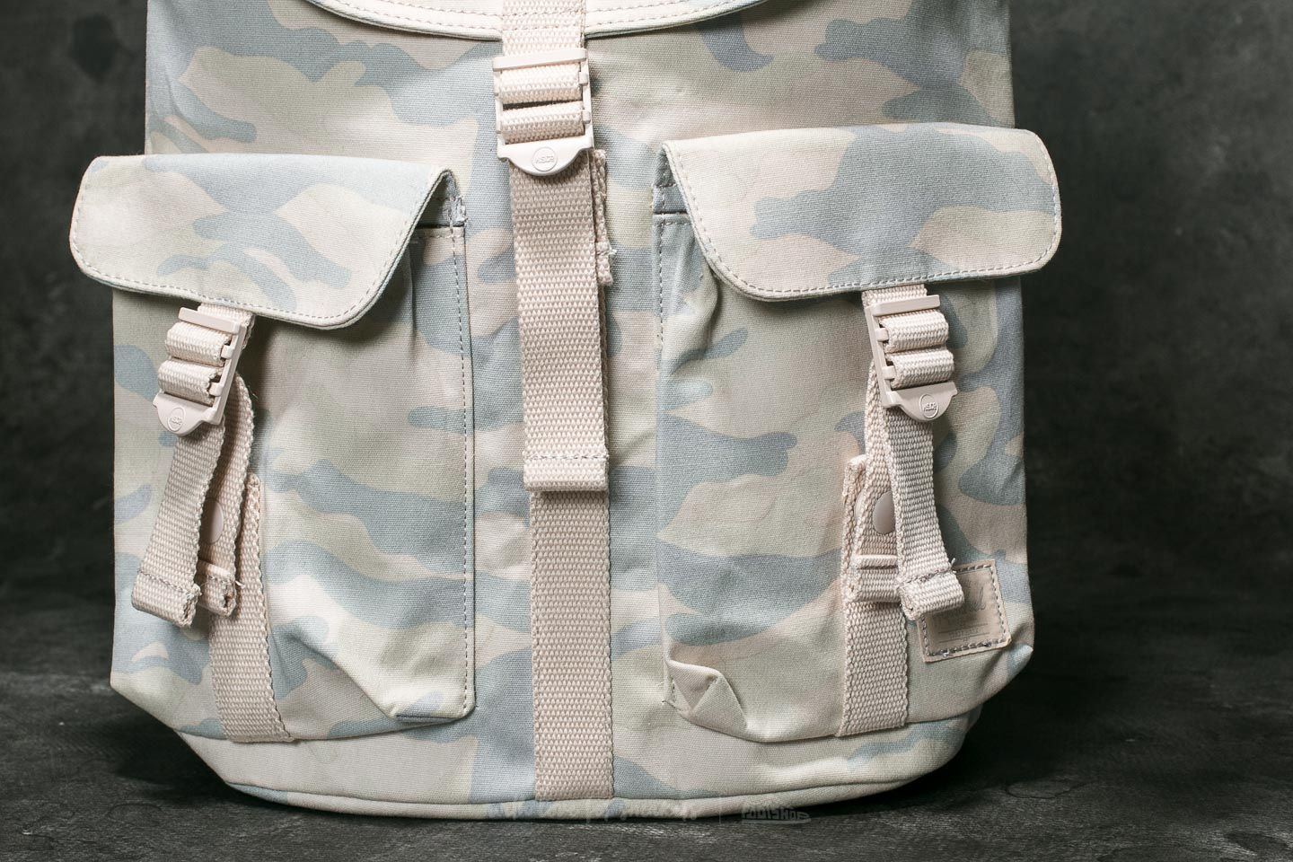 375419a3365 Herschel Supply Co. Dawson Backpack Washed Canvas Camo 133  82