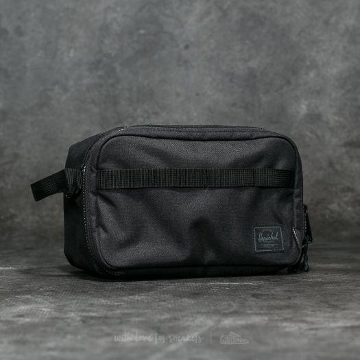 31784a47bb6 Herschel Supply Co. Independent Pop Quiz Backpack Black  Logo Print ...