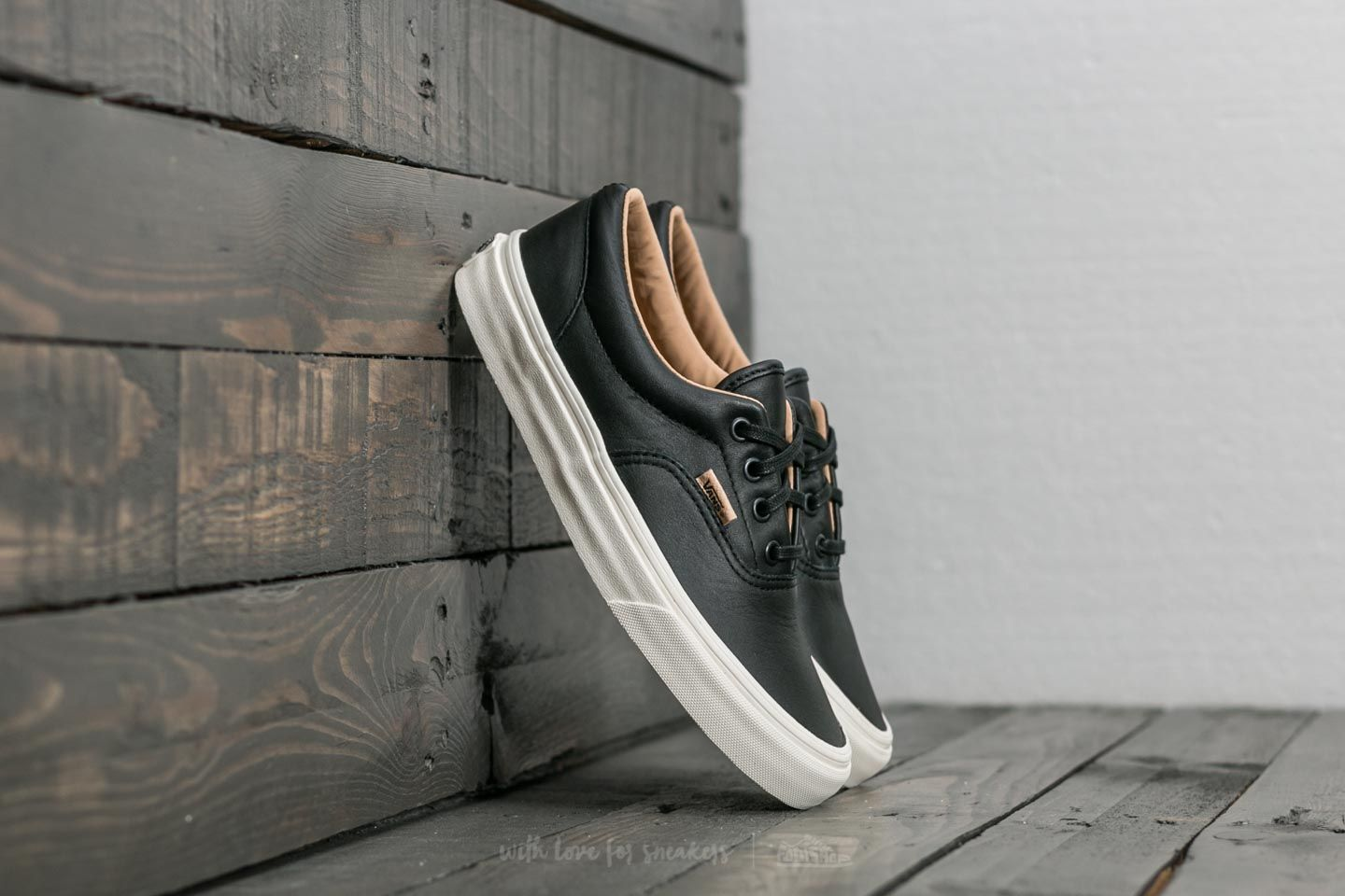 Vans Era (Lux Leather) Black Porcini | Footshop