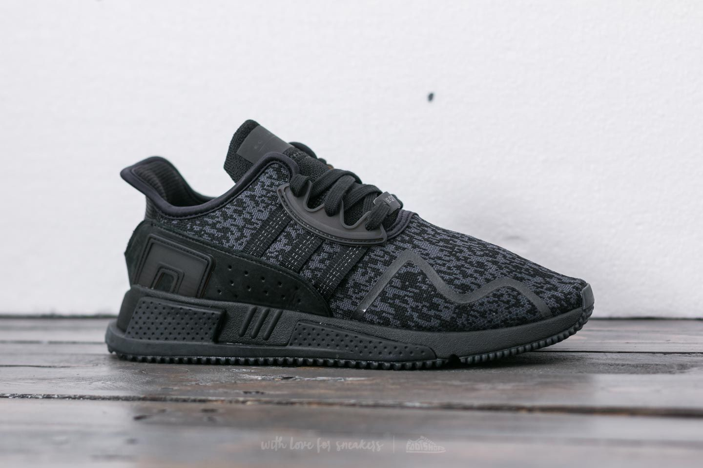 half off f6fc4 4dd98 adidas EQT Cushion ADV Core Black/ Core Black/ Ftw White ...