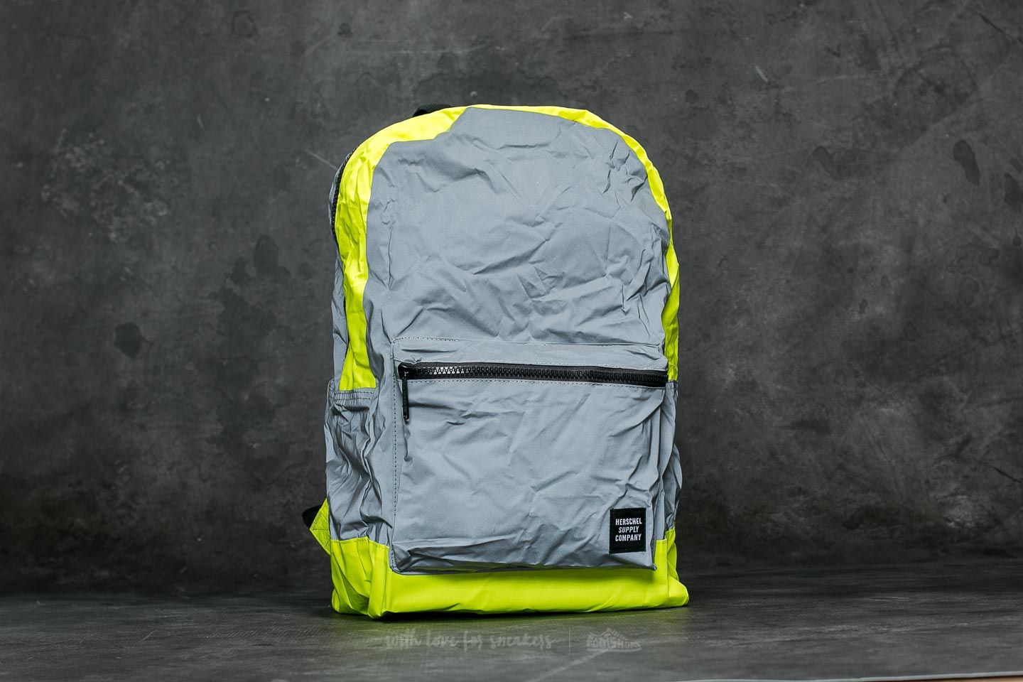 Herschel Supply Co. PA Daypack Silver/ Yelow Neon Reflective
