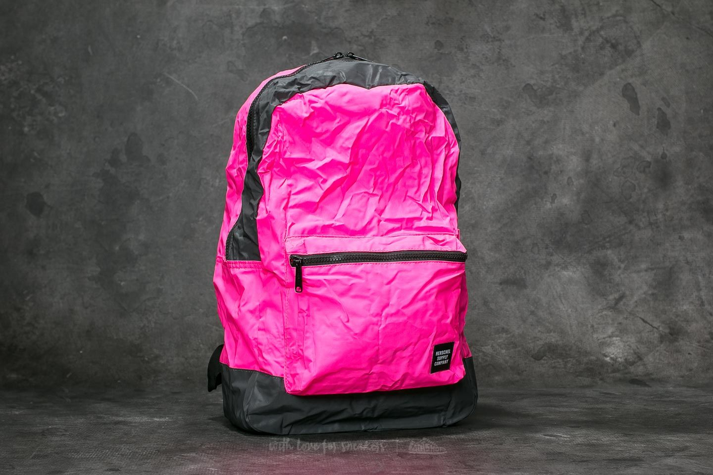 3579ec143615 Herschel Supply Co. Daypack Backpack Neon Pink  Black Reflective at a great  price 23