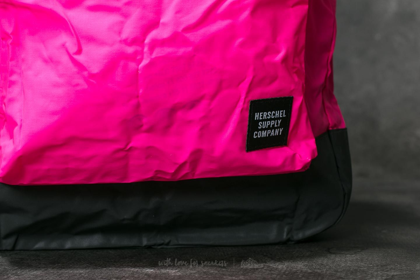 55c822f25f79 Herschel Supply Co. Daypack Backpack Neon Pink  Black Reflective at a great  price £