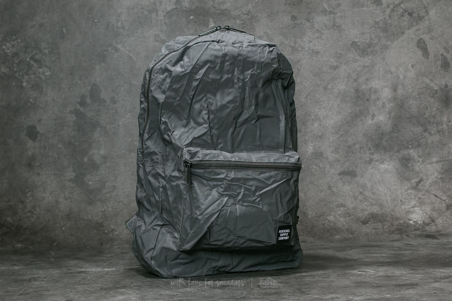 Herschel Supply Co. Daypack Backpack Black Reflective