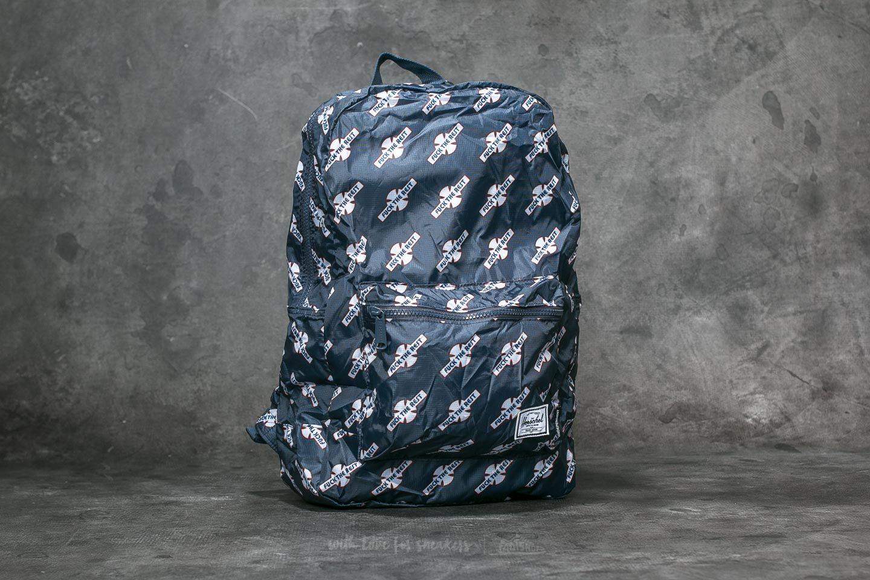 b67dc9d74ba Herschel Supply Co. Packable Daypack Backpack Navy  FTR Print