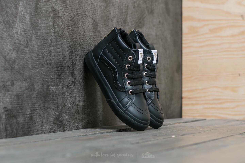 Vans SK8-Hi Zip (MTE) Black  Gold  0df6bd2774