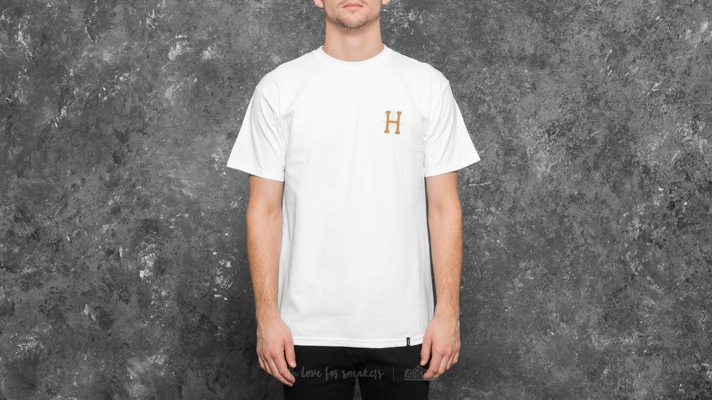 HUF Apparel T-Shirt PLP S/S Gold Print Tee White