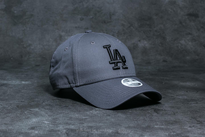0e3a1c9beda117 New Era 9Forty Women Essential Los Angeles Dodgers Cap Grey/ Black ...