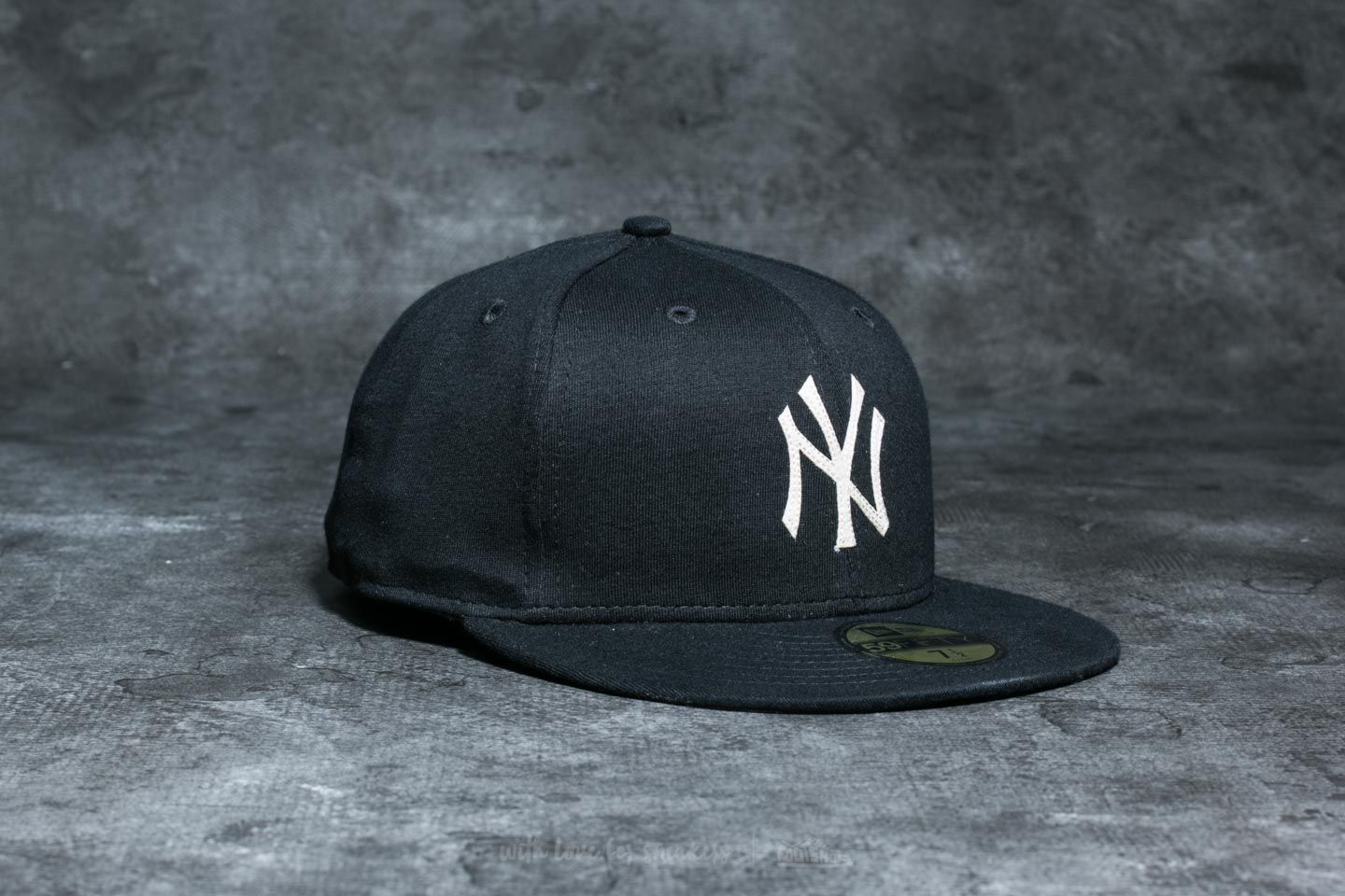 sports shoes a87bf deb4d ... shop new era 59fifty the lounge new york yankees cap black white at a great  price