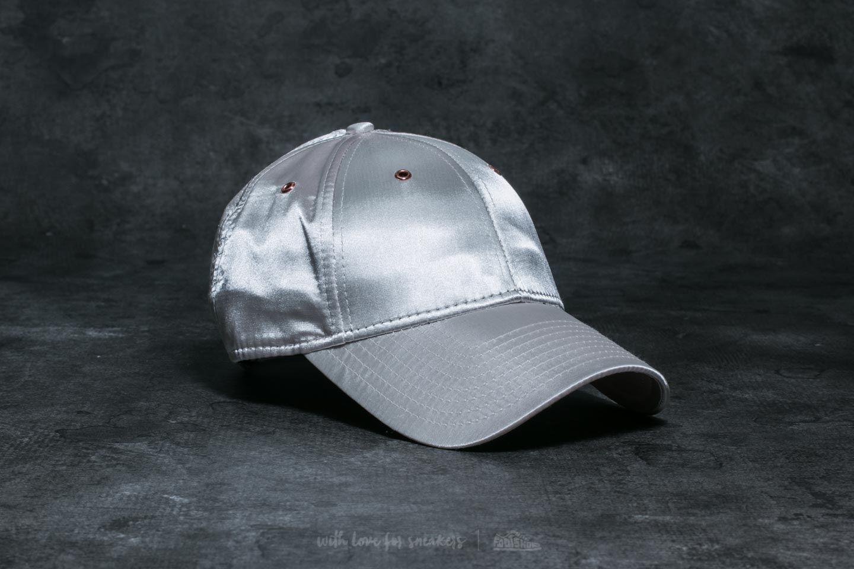 New Era 9Forty Wmn Metallic Cap Silver