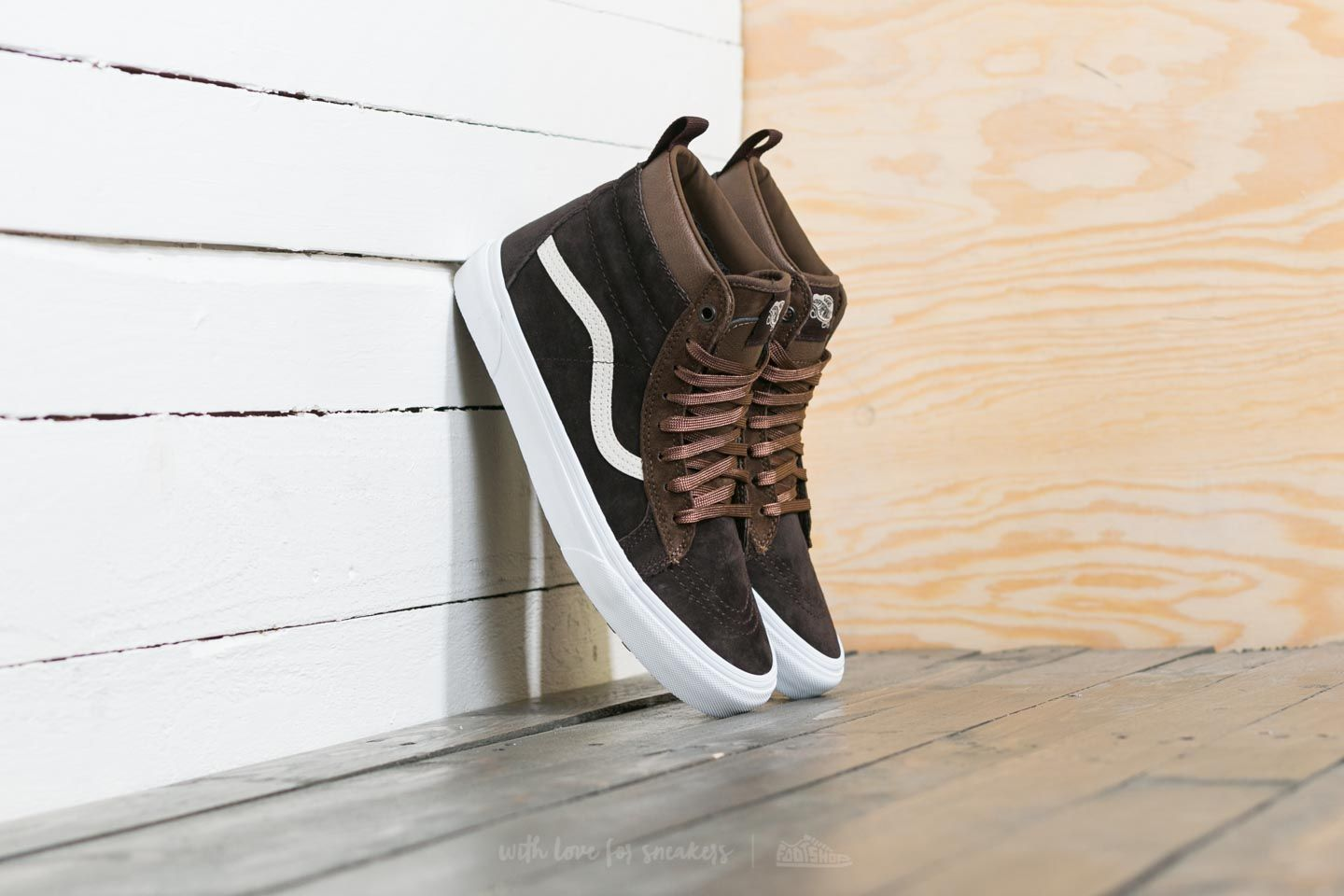 30d3f342088 Vans SK8-Hi MTE Dark Earth  Seal Brown