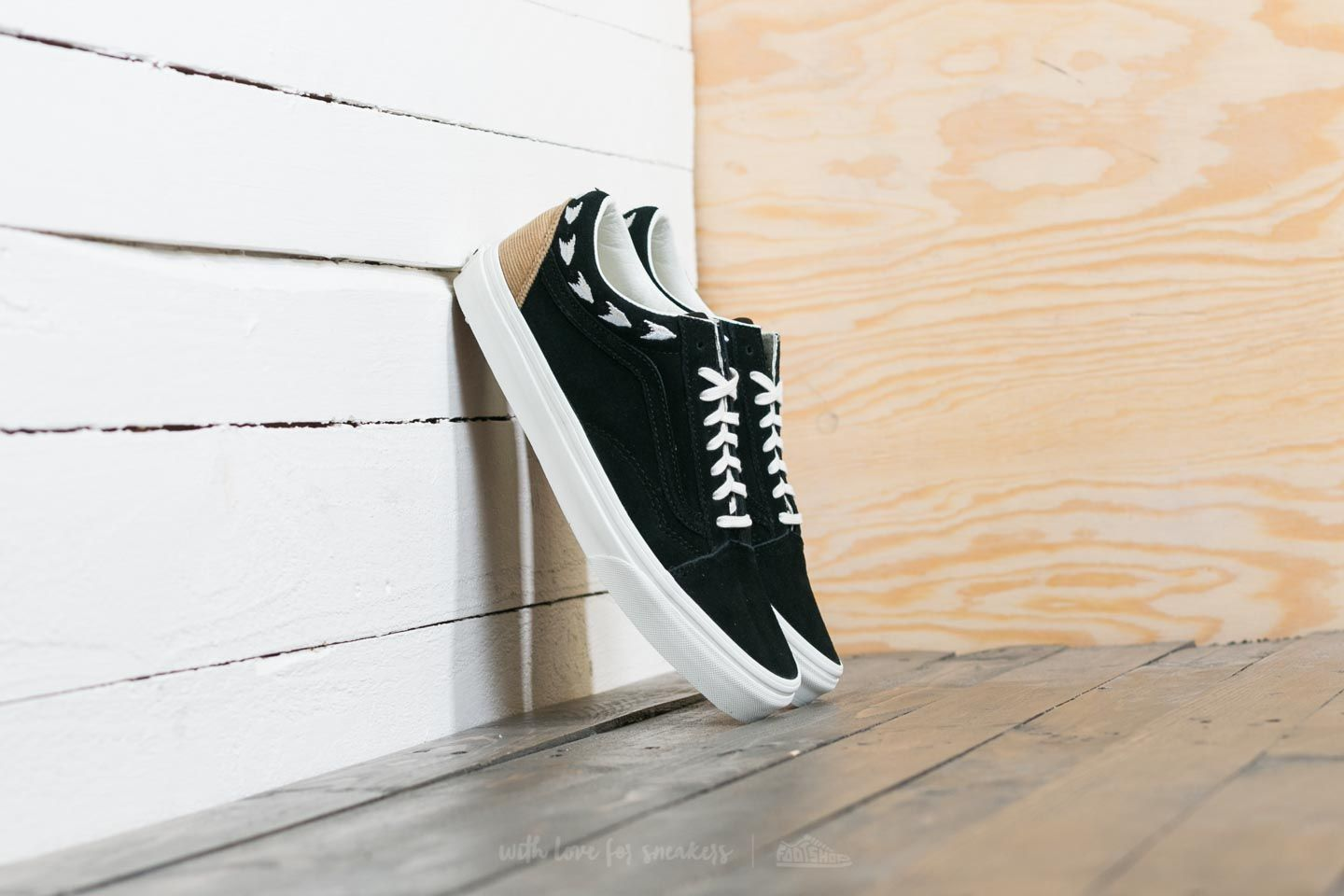 Vans Old Skool (Native Embroidery) Black  Marshmallow  7a0cdb06a