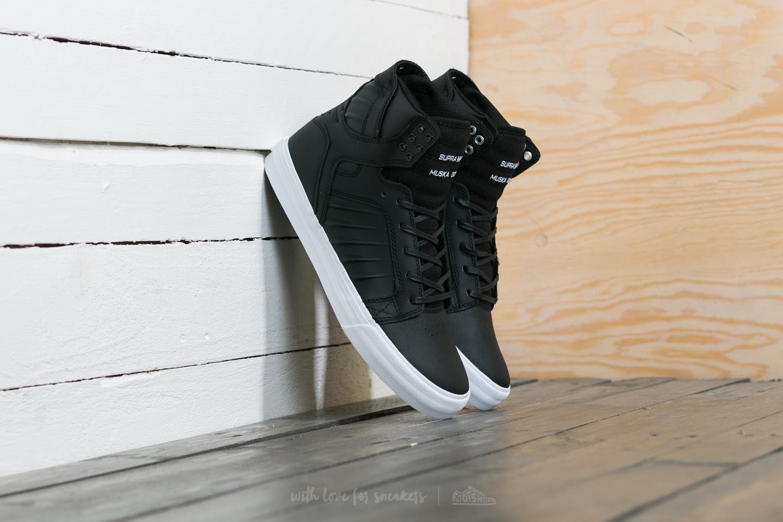 Men's shoes Supra Skytop Evo Black