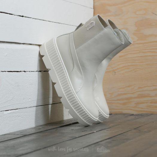 new arrival bbae5 02cc0 Puma Fenty x Rihanna Chelsea Sneaker Boot Wn´s Vanilla Ice