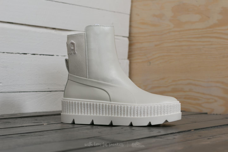 new arrival c06bc 89d96 Puma Fenty x Rihanna Chelsea Sneaker Boot Wn´s Vanilla Ice ...