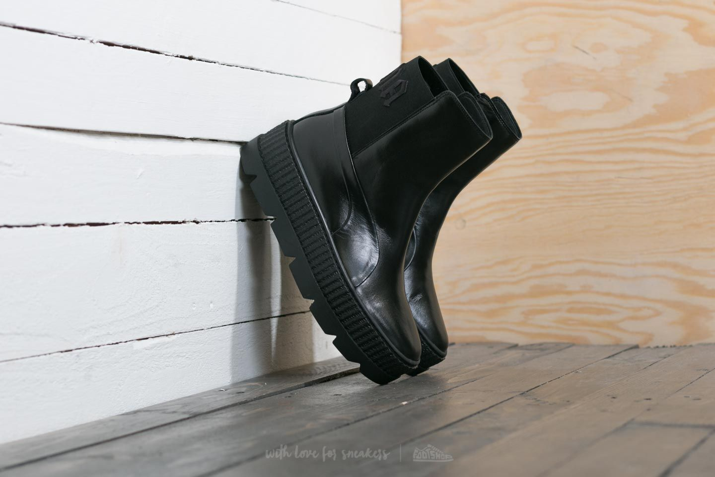 5708dcccabce Puma Fenty x Rihanna Chelsea Sneaker Boot Wn´s Puma Black ...