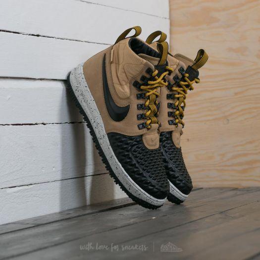 Nike Lunar Force 1 Duckboot '17 Metallic Gold Black Light Bone | Footshop