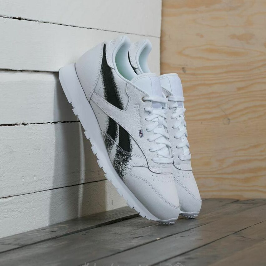 Reebok x Montana Cans Classic Leather White/ Black EUR 35