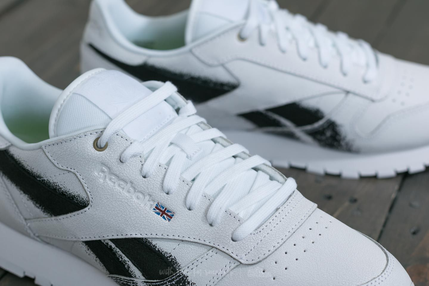 Reebok x Montana Cans Classic Leather White Black   Footshop