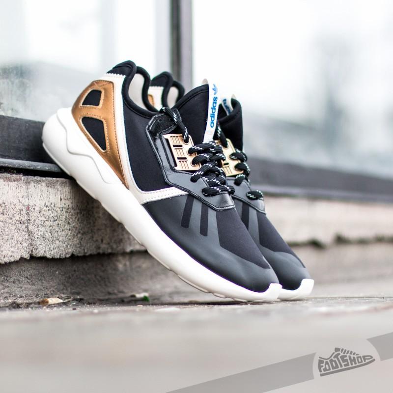 the latest a708a e57a7 Adidas Tubular Runner Black Gold