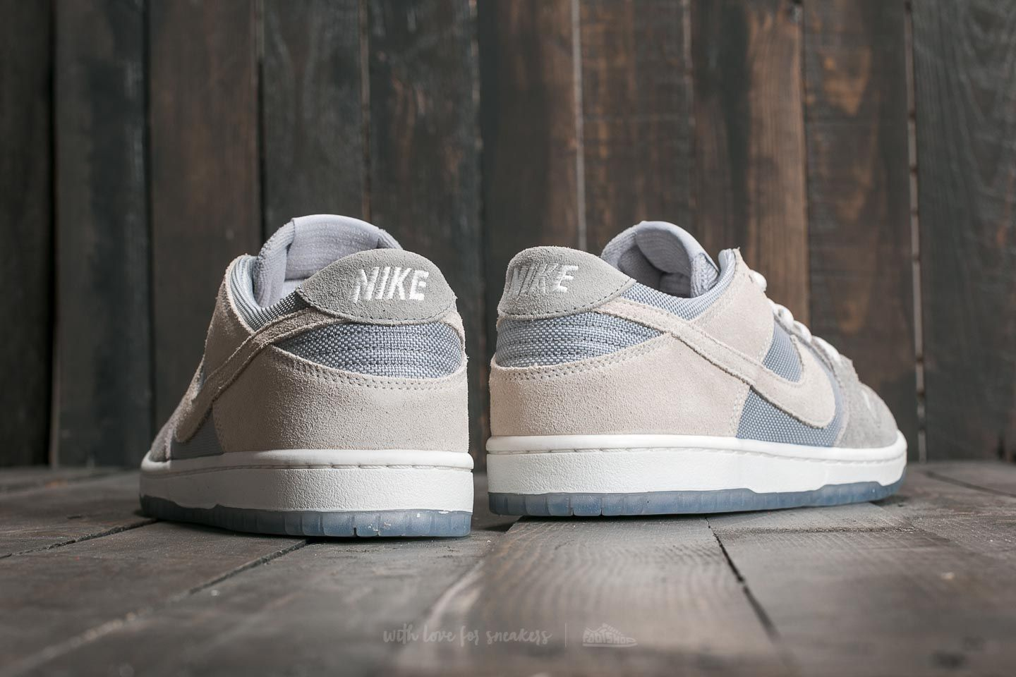 outlet store b1861 ee03a Nike SB Zoom Dunk Low Pro Wolf Grey/ Summit White-Clear ...