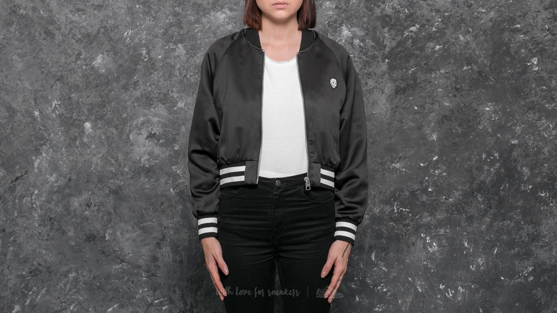 Cheap Monday Heart Bomber Jacket Black