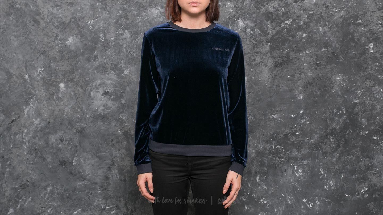 adidas Velvet Sweatshirt