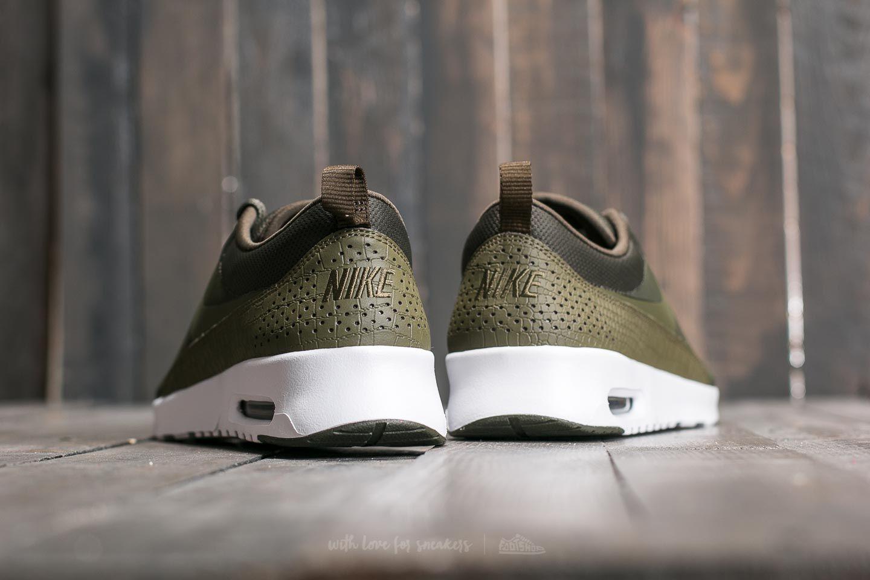 Nike W Air Max Thea Cargo Khaki Medium Olive White   Footshop