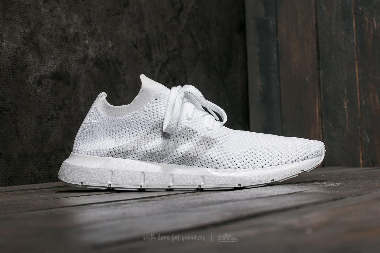 Suministro cuchara Mirar fijamente  Men's shoes adidas Swift Run Primeknit FTW White/ Grey One/ FTW White