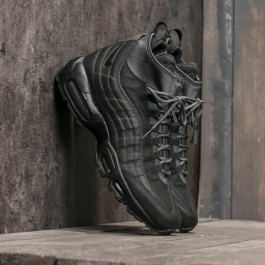 Nike Air Max 95 Sneakerboot Black/ Black-Anthracite-White EUR 44.5