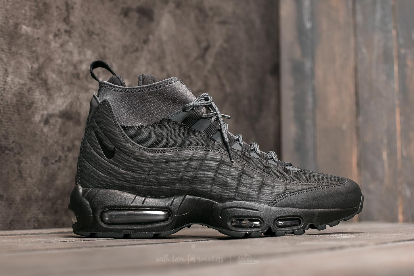 Nike Air Max 95 Sneakerboot Black Black Anthracite White | Footshop