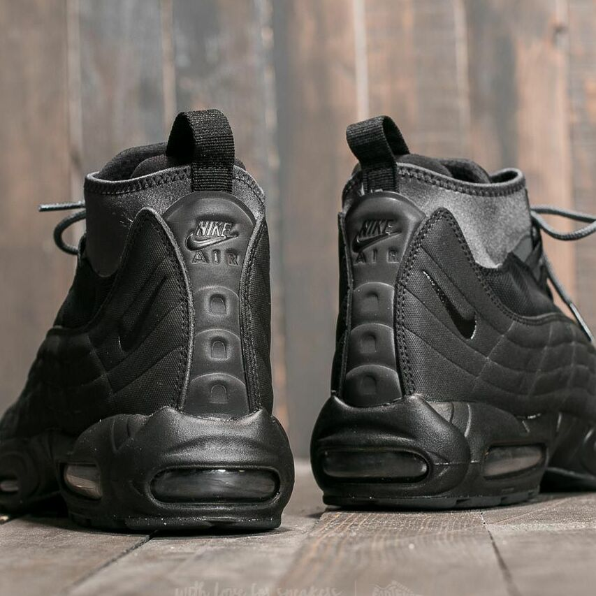 Nike Air Max 95 Sneakerboot Black/ Black-Anthracite-White