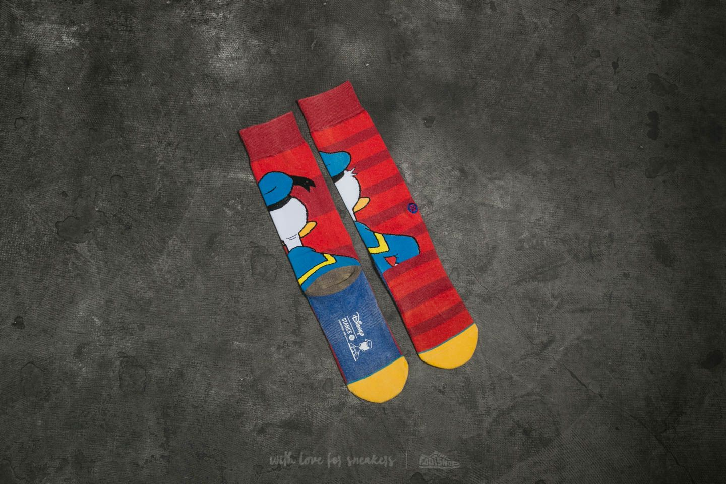 Stance Donald Duck Red