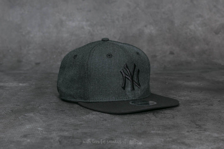 hot sale online bde59 73e9b New Era 9Fifty Essential Cuff Seasonal Heather New York Yankees Cap Dark  Grey