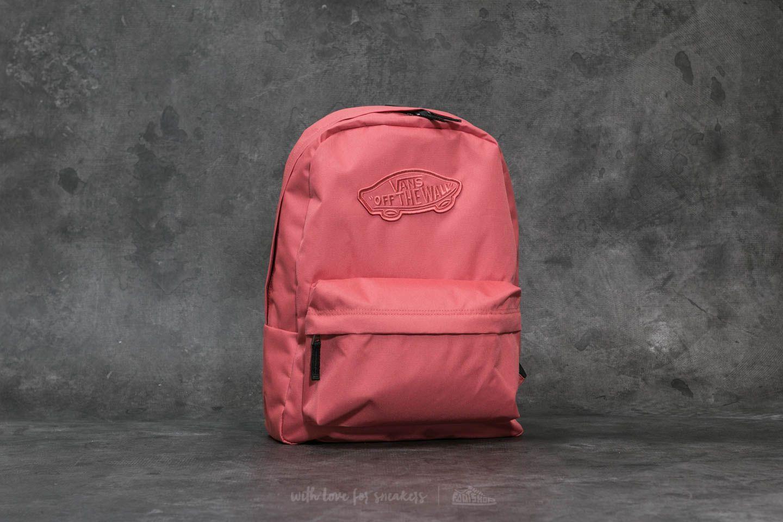 56d05ba47cdea Vans Realm Backpack Faded Rose