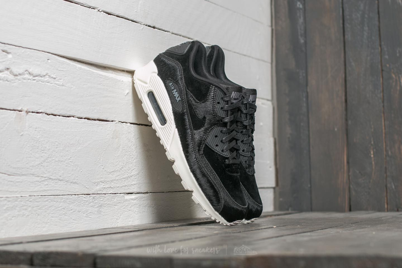 57a75a1c0306 Nike W Air Max 90 LX Black  Black  Dark Grey  Sail