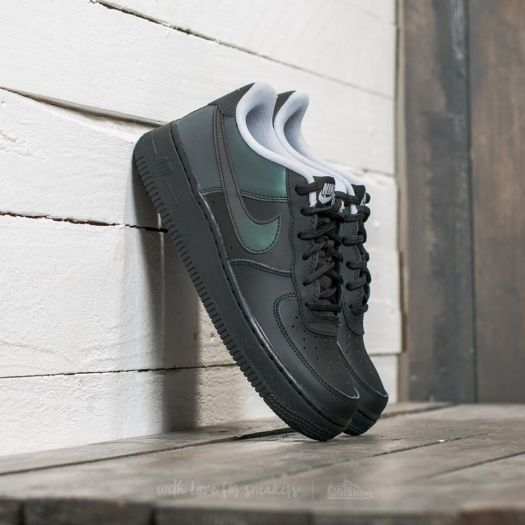 Nike Air Force 1 LV8 (GS) Black Black Wolf Grey | Footshop