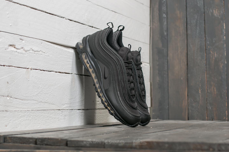 Nike Air Max 97 Premium SE Black  Black  Metallic Gold  e69597e25baf