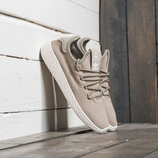 best online for whole family big sale adidas Pharrell Williams Tennis HU C Tech Beige/ Tech Beige ...