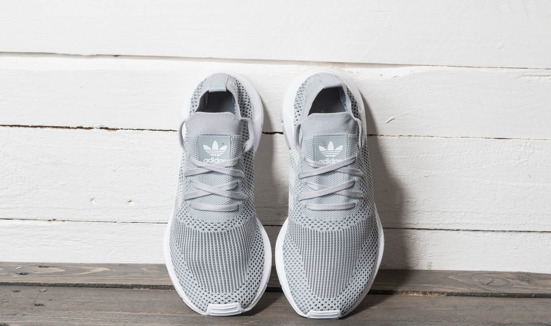 76a92e77043 adidas Swift Run Primeknit W Grey Two  Ftw White  Grey Four at a great