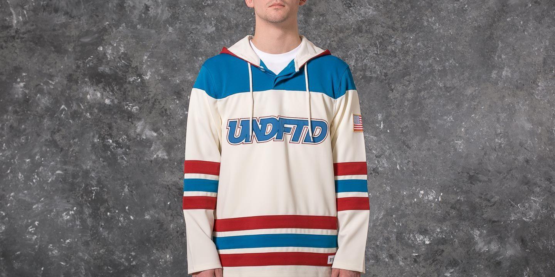 Undefeated Hockey Jersey Sweatshirt Off White  6c833785fb8