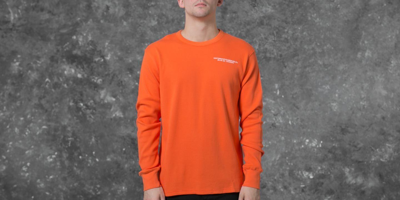 Undefeated Thermal Crew Neck Orange