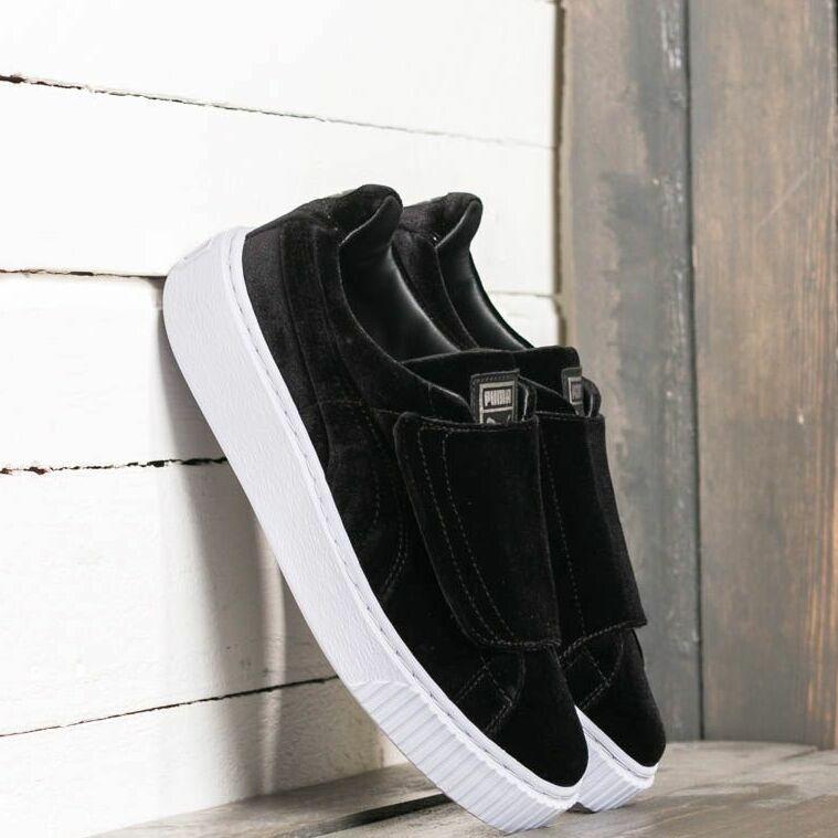 Puma Basket Platform Strap VR Wn´s Puma Black/ Puma Black/ Icelandic Black EUR 40.5